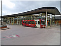 SJ7687 : The Bus Station at Altrincham Interchange by David Dixon