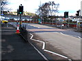 ST3189 : Lyne Road pelican crossing, Crindau, Newport by Jaggery