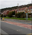 SN4701 : Pwll Road speed camera,  Pwll, Carmarthenshire by Jaggery