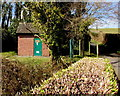 ST4299 : Coed Cwnwr Pumping Station, Llangwm, Monmouthshire by Jaggery