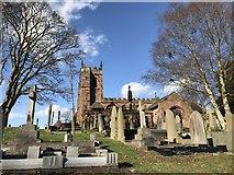 SJ7744 : All Saints' Church, Madeley by Jonathan Hutchins