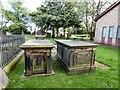 SJ9497 : Old Chapel graveyard by Gerald England
