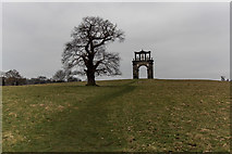 SJ9821 : Shugborough Triumphal Arch by Brian Deegan