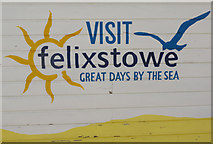 TM3034 : Visit Felixstowe - great days by the sea by Stephen McKay