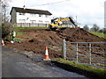 H4772 : Sewer construction, Mullaghmore by Kenneth  Allen