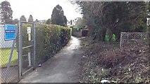 SX9265 : Path behind the Bowling Club by John C