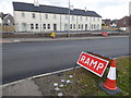 H4672 : Road works, Hospital Road, Omagh - 16 by Kenneth  Allen
