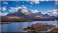 NC5753 : Wee islet on Lochan Hakel by Peter Moore