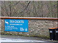 TL1020 : Luton Sea Cadets sign by Adrian Cable