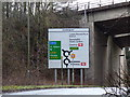 TL1020 : Roadsign on the B653 Lower Harpenden Road by Adrian Cable