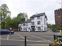SJ8588 : The White Hart Tavern, Cheadle by Eirian Evans