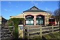 TL4265 : Barn, Westwick Hall Farm by N Chadwick