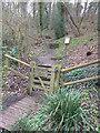 TQ0145 : Gerald's Wood (southern entrance) by Hugh Craddock