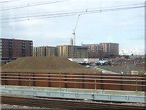 SJ8298 : Redevelopment in progress around East Ordsall Lane by Stephen Craven