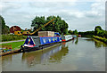 SP4281 : Oxford Canal north of Brinklow in Warwickshire by Roger  Kidd