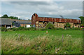 SP4281 : Well filled barn north of Brinklow in Warwickshire by Roger  Kidd