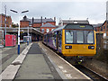 SD5805 : Wigan Wallgate station - train to Southport by Stephen Craven