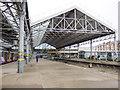 SD3317 : Chapel Street station - platform 6 by Stephen Craven