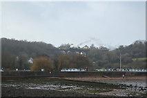 SX8957 : Steam train on viaduct by N Chadwick