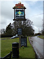 TL1419 : The Bright Star Public House sign by Geographer