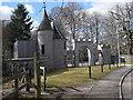 NO6995 : Former Blackhall Castle gates by Bill Harrison