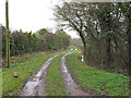 TM3294 : Birch Way (Track), Thwaite  by Roger Jones