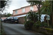 SX9268 : House on Rockhouse Lane by N Chadwick