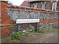 TM4978 : Southwold Cemetery sign by Adrian Cable