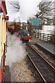 SC3172 : Steam Train enters Santon Railway Station by Ian S