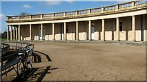 TG2007 : The north-west pavilion of the rotunda in Eaton Park by Evelyn Simak