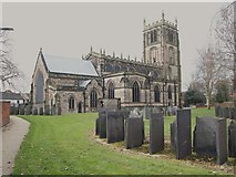 SK5319 : Parish Church, Loughborough, Leics. by David Hallam-Jones