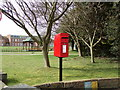 TM4977 : St.Felix School Postbox by Adrian Cable