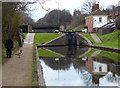 SP0592 : Perry Barr Flight Top Lock No 1 and lock keepers cottage by Mat Fascione