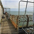 SD3036 : Anglers at the end of the pier by Gerald England