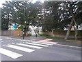 SZ1491 : Tuckton: the grass segment of Twynham Road has been reconfigured by Chris Downer