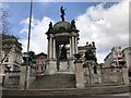 SJ3490 : Queen Victoria Monument by Jonathan Hutchins