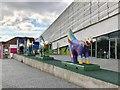 SJ3390 : Procession of Mini Superlambananas by Jonathan Hutchins