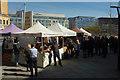 ST5972 : Food stalls, The Square, Bristol by Derek Harper