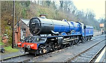SO7975 : Blue King at rest, Bewdley by Philip Pankhurst