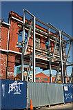 ST5973 : Braced facade, Unity Street, Bristol by Derek Harper