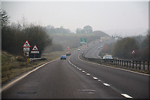 SP8925 : Aylesbury Vale : Stoke Hammond and Linslade Western Bypass A4146 by Lewis Clarke