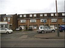 TQ4094 : Houses on Epping New Road, Buckhurst Hill by David Howard