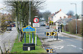 NZ3742 : Traffic calming measure on B1280 at Haswell by Trevor Littlewood