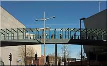 ST5973 : Footbridge, Cabot Circus by Derek Harper