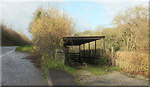 SX0271 : By the A389 at Pencarrow Mill by Derek Harper