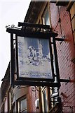 SD9205 : Hare & Hounds (2) - sign, 16 Yorkshire Street, Oldham by P L Chadwick