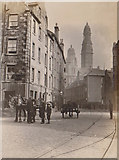 NS2776 : Junction of West Quay Lane and Dalrymple Street, Greenock circa 1911 by Alexander Wilson Motion