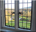 SX7384 : View through a bedroom window at Bovey Castle by Chris Reynolds