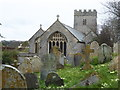 SX8570 : Church of St Mary the Virgin, Wolborough by Chris Allen