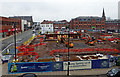 SO9198 : New retail market development site, Wolverhampton by Roger  Kidd